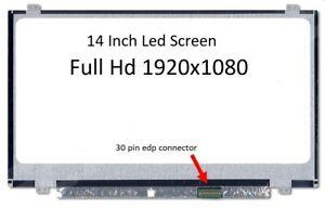 B140HTN01.2 HW3A  14.0'' FULL HD LED SLIM LAPTOP LCD SCREEN 30 PINS EDP