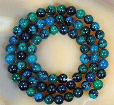 6mm Natural Lapis Lazuli Chrysocolla Gemstone Round Loose Beads 15''