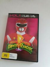 Mighty Morphin Power Rangers Vol 1 DVD