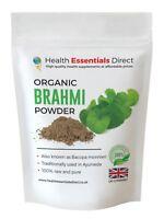 Premium Brahmi Powder (Superior Grade Bacopa Monniera) Choose Size: