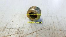 M14 x 1.5 Aigend Tappo Olio Magnetico Tappo Filettato Tappi per Bulloni di Scarico Magnetici in Alluminio per Motori Coppa Olio con 3 Distanziatori