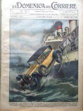 La Domenica del Corriere 14 Aprile 1929 Miniera Belgio Manton Stazione Radio Usa