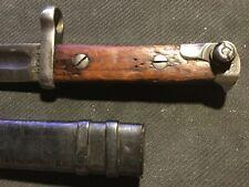 Svt 40 Bayonet and Scabbard Soviet Red Army Rkka Wwii svt-40