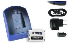 Baterìa+Cargador (USB) EN-EL11 ENEL11 para Nikon Coolpix S550, S560