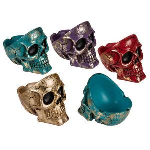 Aschenbecher - Totenkopf - Shiny Skull - 4 Farben