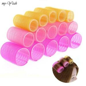 Home Use DIY Large Self-Adhesive Hair Rollers Styling Roller Roll Curler Tool
