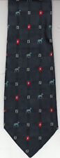 Fendi-[If New $350]-Authentic-100% Silk Tie -Made In Italy-F36- Men's Tie