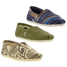 Canvas Striped Shoes for Men