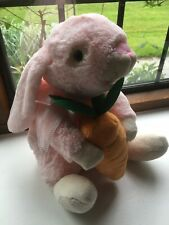 BNWoT Adorable Soft Plush Toy Rabbit 11 Inches Tall For Over 12 Month Olds