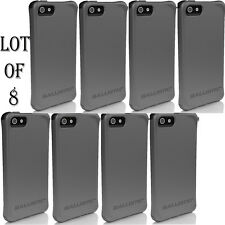 8 LOT - Ballistic AGF Smooth Series Case for iPhone 5/5S SE w/Color Bumper Shock