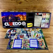 cluedo The Classic Mystery board game Hasbro 2011 solve the murder detective vgc