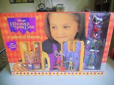DISNEY  THE HUNCHBACK OF NOTRE DAME CATHEDRAL PLAYSET NOS