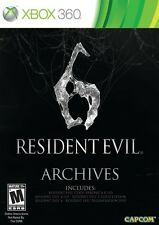 Resident Evil 6 Archives - Xbox 360 Game