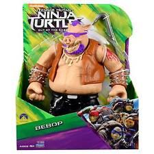 """Ninja Turtles TMNT Movie 2 out of The Shadows Gaint 11"""" Bebop Action Battle Figu"""
