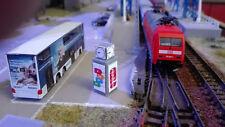 Bahnhofsuhr Spur N |  Reklametafel | Werbetafel |1:160 | Bausatz