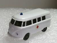 Wiking ( 320/11A , CS 1034/2D ) -VW T1 Bus Rotkreuz , weiß T@P
