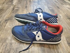 Saucony Striped Athletic Shoes for Men