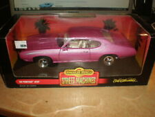 Ertl American Muscle 1/18  1969 Pontiac GTO street version in rare pink      MIB
