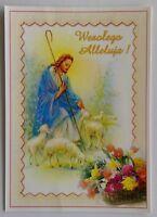 Wesolego Alleluja Happy Easter 2001 Postcard (P295)