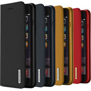DUX DUCIS Real Genuine Leather Flip Wallet Case for Apple iPhone 6 / 6s