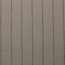 "HEAVY WOVEN PUTTY STRIPE BROWN MULTIPURPOSE UPHOLSTERY FABRIC BY YARD 55""W"