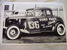 1932 ? FORD OLD STOCK CAR RACE CAR  11 X 17  PHOTO  PICTURE