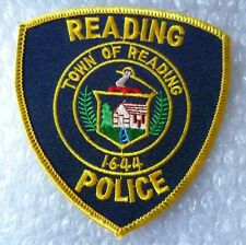 Patch- Reading Town of Reading 1644 US Police Patch (NEW*)