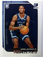 2018-19 Panini NBA Hoops Jaren Jackson Jr Rookie RC #278, Memphis Grizzlies