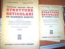 Calcolo rapido delle strutture reticolari ad elementi diritti - Atlante + testo
