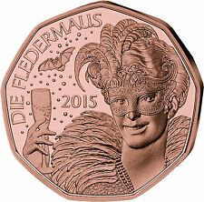 Kupfer Euro-Gedenkmünzen aus Österreich