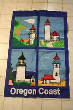 Large Oregon Lighthouse Flag - For Home Or Garden Yaquina Head Cape Mears
