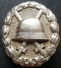 ✚8826✚ Imperial German Army Wound Badge in Silver Verwundetenabzeichen WW1