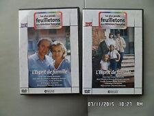 2 DVD feuilleton TV L'ESPRIT DE FAMILLE intégrale Maurice Biraud Claire DuprayI9