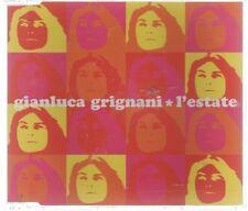 GIANLUCA GRIGNANI L'ESTATE  CD SINGOLO