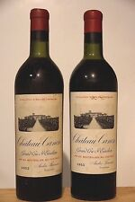 vin CHATEAU CANON 1953 Saint Emilion Grand Cru Classé Bordeaux rouge 75cl wine