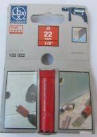 """Sega a tazza per trapano LUX 102022 22mm 7/8"""" profi legno duro pannelli gesso"""