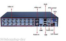 16 channel dvr Recorder H.264 network DVR Surveillance Security