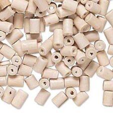 Perline sfuse di legno bianco