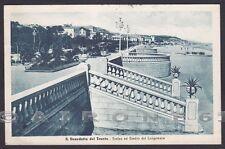 ASCOLI PICENO SAN BENEDETTO DEL TRONTO 18 Cartolina viaggiata 1947 Ed. ALTEROCCA