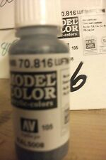 MODEL HOBBY PAINT 17ML BOTTLE  VAL816 AV Vallejo Model Color  Luftwaffe Uniform