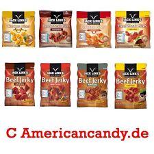 7x Jack Link's Beef Jerky Trockenfleisch - 4 Sorten freie Auswahl  (8,00€/100g)