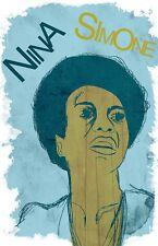 Nina Simone Poster - Limited Edition of 100