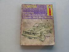 HAYNES #636 Automotive Repair Manual Book For TOYOTA COROLLA TERCEL 1980-1982