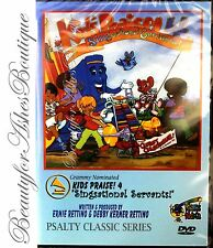 Psalty the Singing Songbook Singalong Fun Sensational Servants Kids Praise 4 DVD