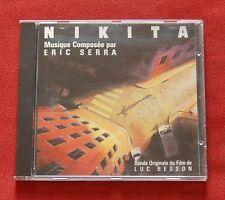 La Femme Nikita - OST Soundtrack CD - music by Eric Serra - Luc Besson - Virgin