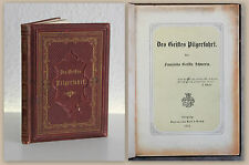 Franziska Gräfin Schwerin Des Geistes Pilgerfahrt 1874 Lyrik Dichtkunst Gedichte