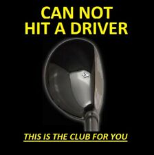 #1 LEFT HANDED DRIVING 13° i-Driver Hybrid Iron Wood Rescue Golf Club LEFT HAND