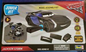 Disney Pixar,CARS 3, Jackson Storm, Model Junior Assembly Kit, BY REVELL