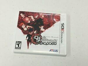 Shin Megami Tensei: Devil Survivor Overclocked (Nintendo 3DS, 2011) CIB