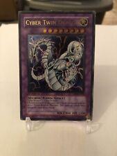 Cyber Twin Dragon CRV-EN035 Ultimate Rare 1st Edition